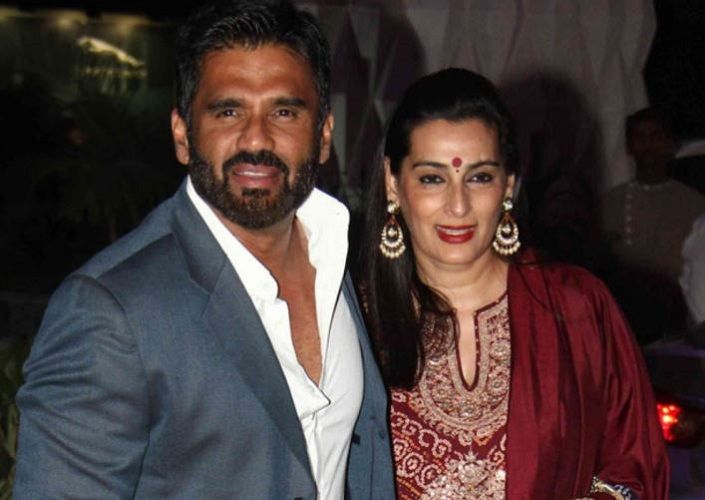 Mana Shetty with her Husband