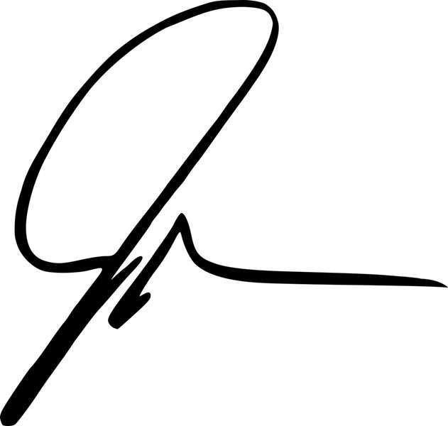 John Green's signature