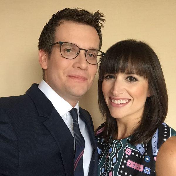 John Green with wife Sarah Urist Green