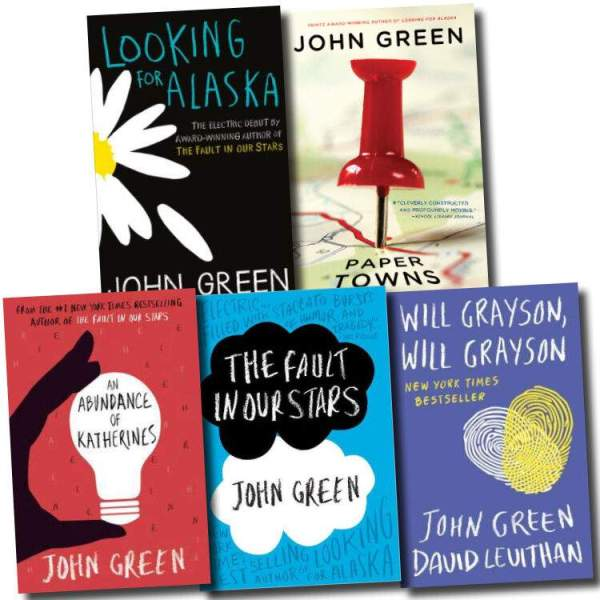 Most Famous books of John Green