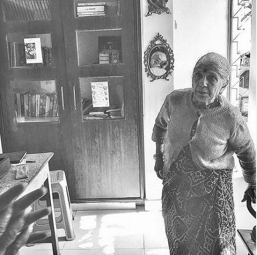 Adarsh Gourav's Grandmother