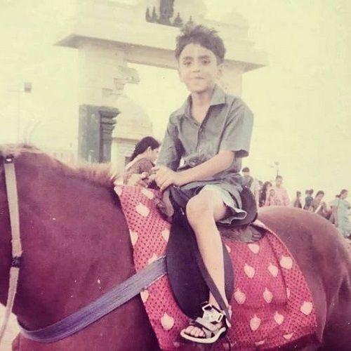 Adarsh Gourav's Childhood Picture