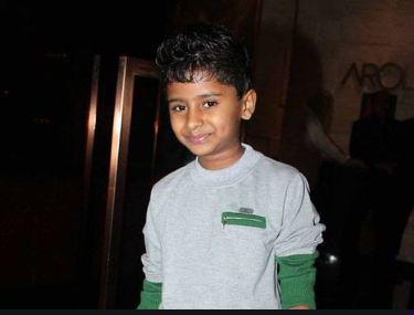 Naman Jain in childhood