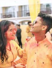 Naman Jain with his sister