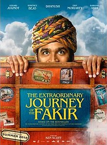 The Extraordinary Journey Of A Fakir Film Poster