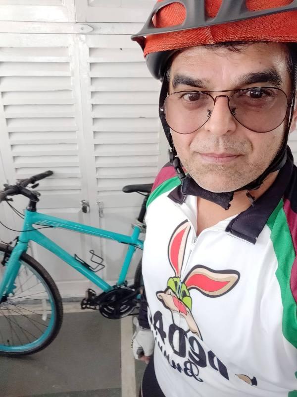 Atul Khatri cycling
