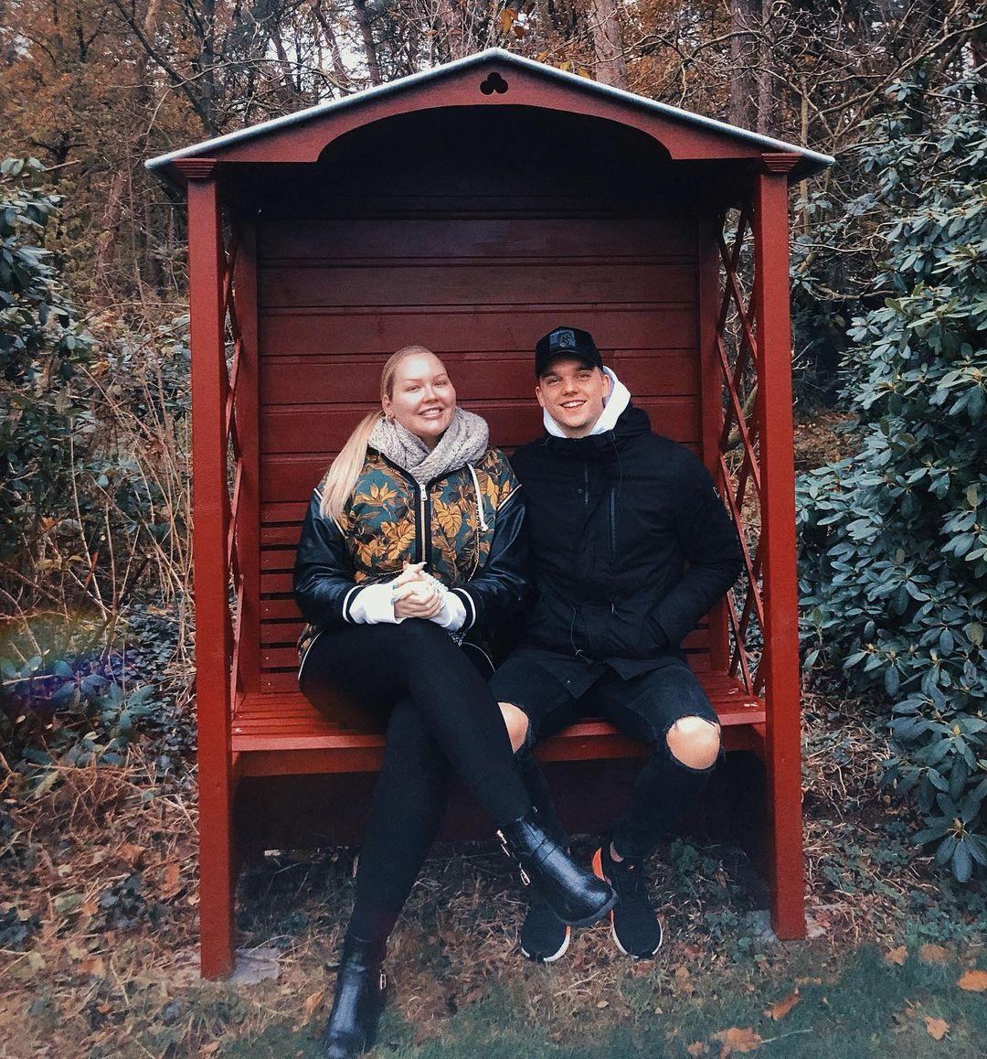 Nikkie de Jager with Dylan Drossaers