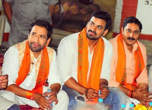Aditya Ojha Supporting BJP