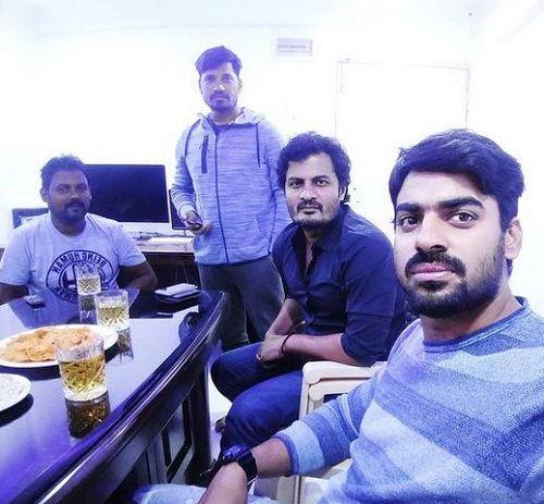 Aditya Ojha in a Party
