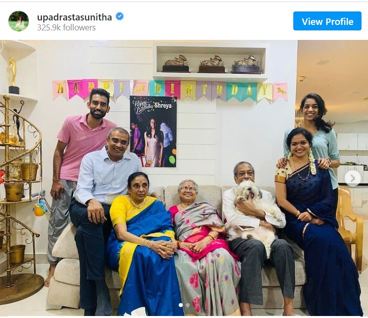 Sunitha Upadrasta's Instagram Post