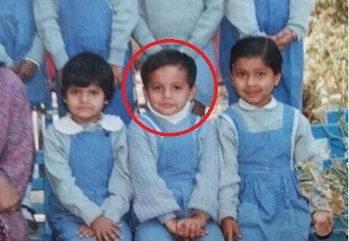 Gaurav Taneja's Childhood Picture