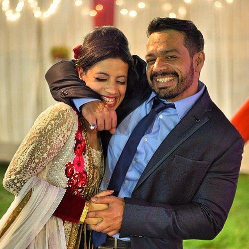 Gaurav Taneja and his Sister