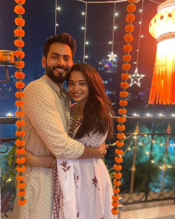 Anjali Barot with her boyfriend Gaurav Arora