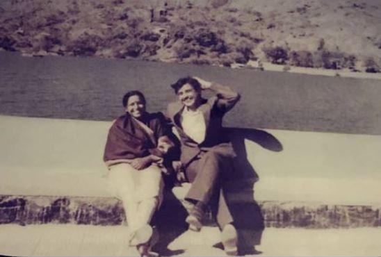 Anant Tyagi's parents
