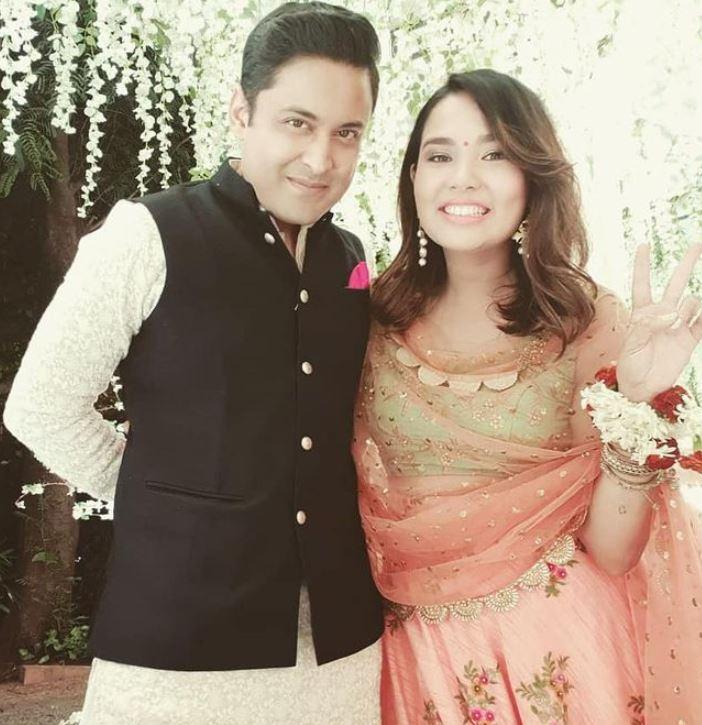 Anant Tyagi and his wife