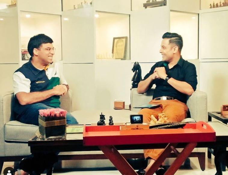 Anant Tyagi interviewing Vishwanathan Anand
