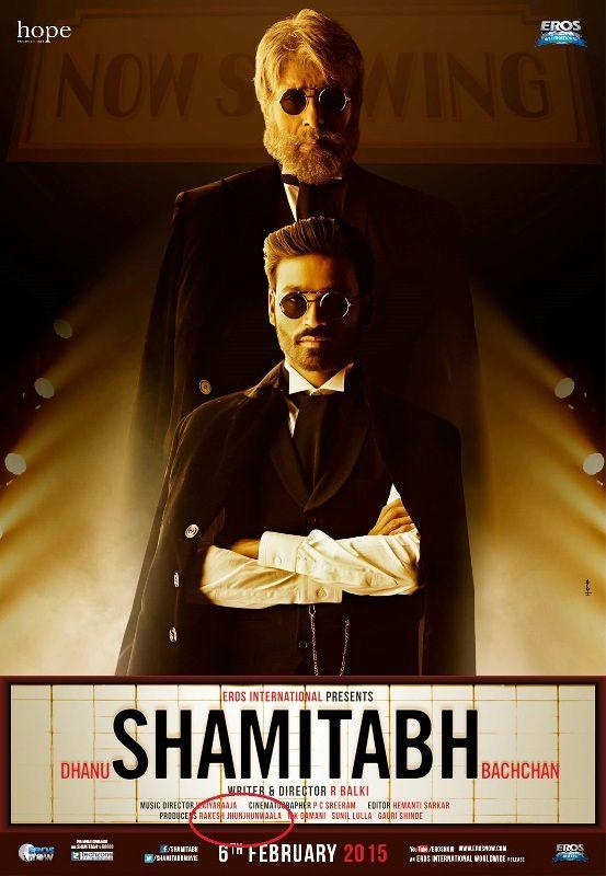 Rakesh Jhunjhunwala's film Shamitabh (2015)