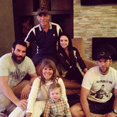 Dan Bilzerian with his Family