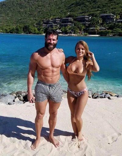 Dan Bilzerian with Sofia Bevarly