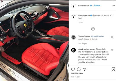 Dan Bilzerian Talking about his 2018 Ferrari 812 Superfast