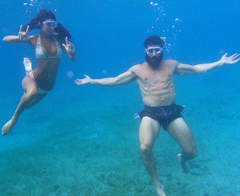 Dan Bilzerian Scuba Diving