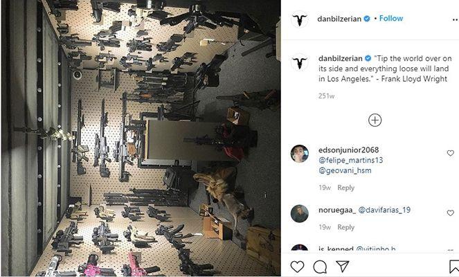 Dan Bilzerian Talking about his Collection of Guns