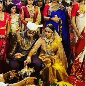 चैतन्य जोनागलगड्डा और निहारिका कोनिडेला विवाह छवियाँ (5)