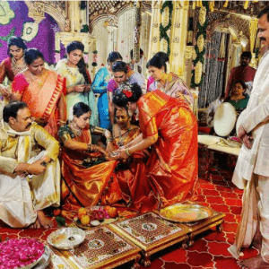 चैतन्य जोनागलगड्डा और निहारिका कोनिडेला विवाह छवियाँ (2)