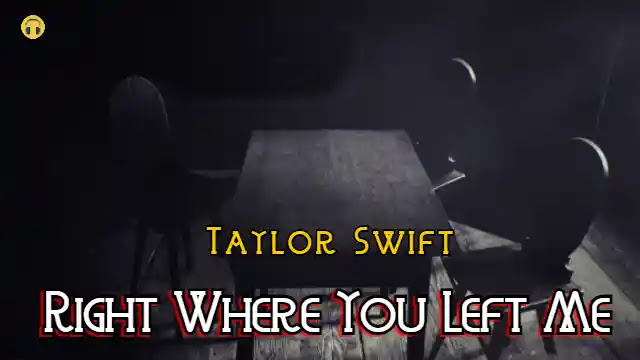 Correct The place You Left Me (Lyrics) Taylor Swift | Lyrics Lover