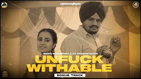 Unfuckwithable Lyrics in English – Sidhu Moose Wala | Moosetape