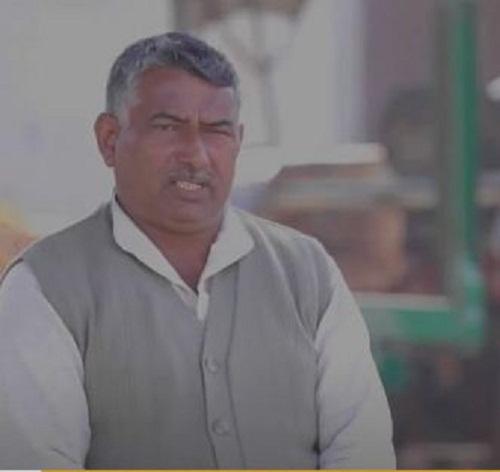 Saurabh Chaudhary's father