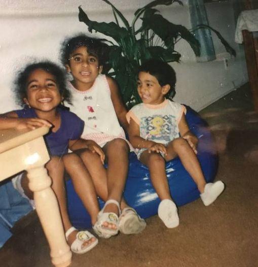 Sirisha Bandla's childhood picture