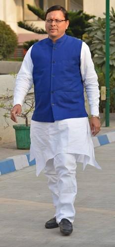 Pushkar Singh Dhami