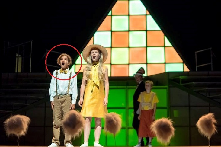 Amir Wilson in Seussical (2014)