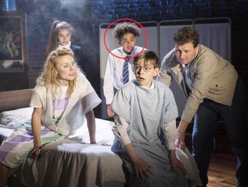 Amir Wilson in The Secret Diary of Adrian Mole Aged 13¾ (2017)