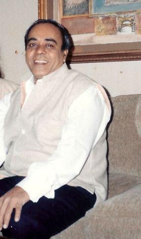 Kitty Kumaramangalam's husband
