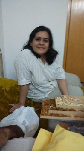 Kitty Kumaramangalam's daughter