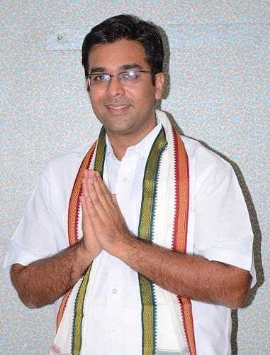 Kitty Kumaramangalam's son