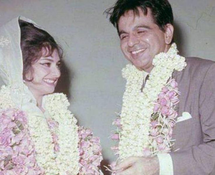 Saira Banu on her wedding day