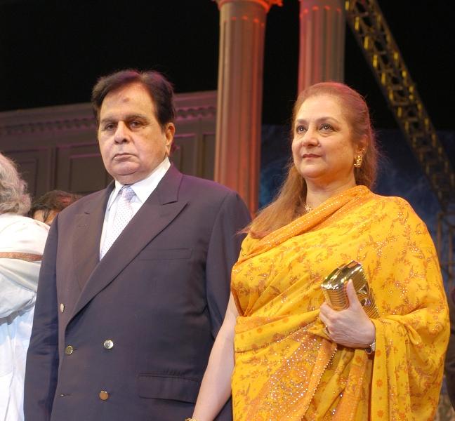 Saira Banu with Dilip Kumar