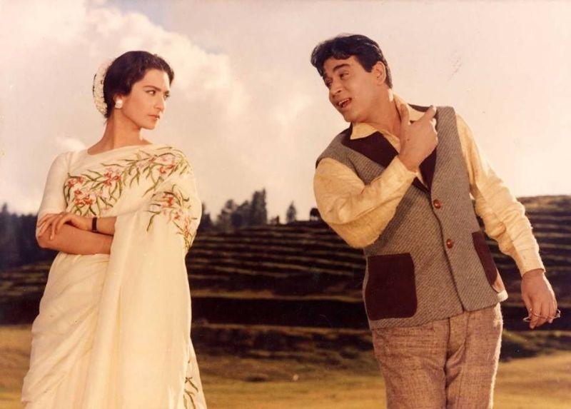 Saira Banu in the movie Aayi Milan Ki Bela
