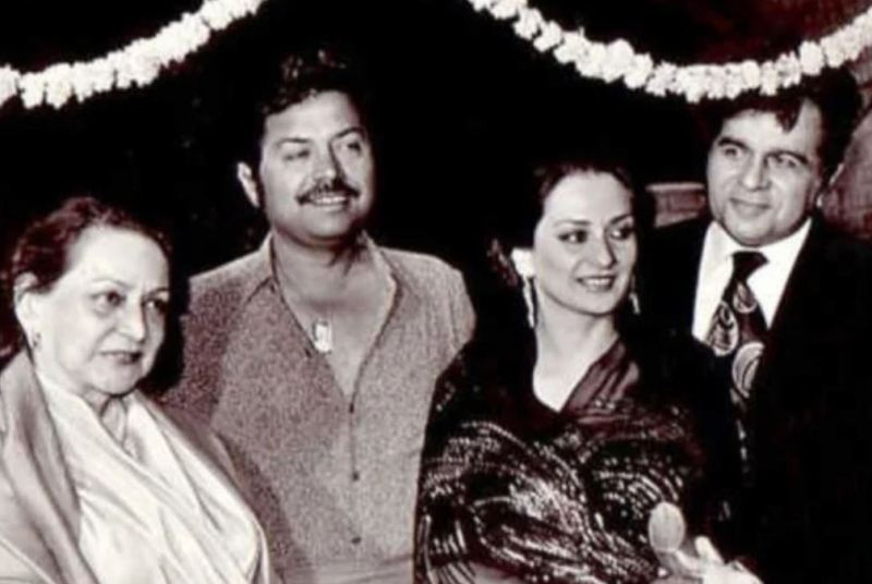 Saira Banu's mother (extreme left)