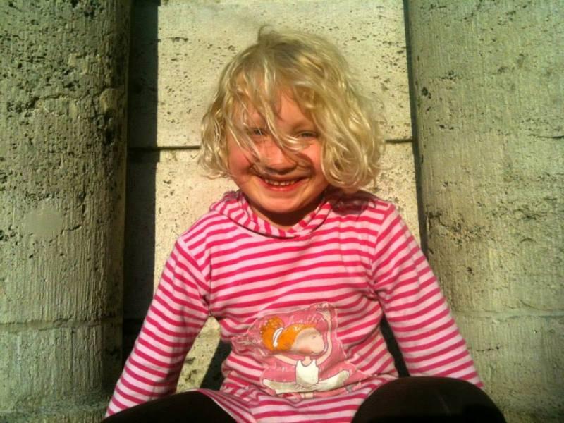 Childhood picture of Helena Zengel