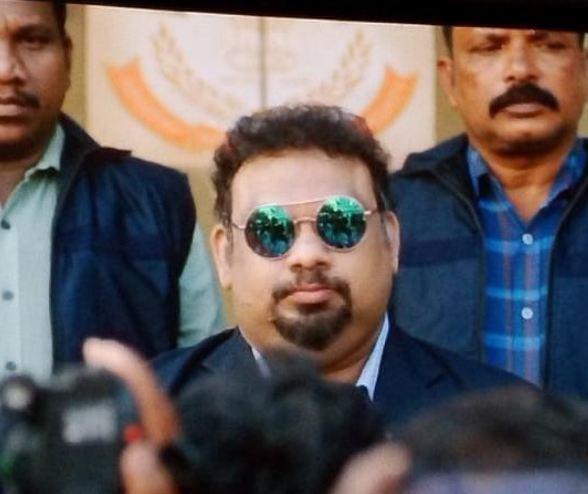 Mahesh Kathi in a film