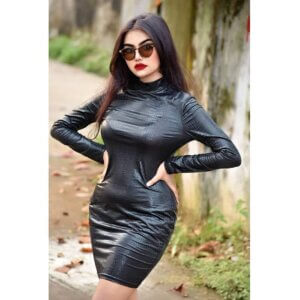 Geethika Jeshwi in black skirt