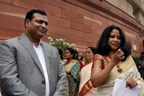 Indrajit Mukherjee and Sharmishta Mukherjee