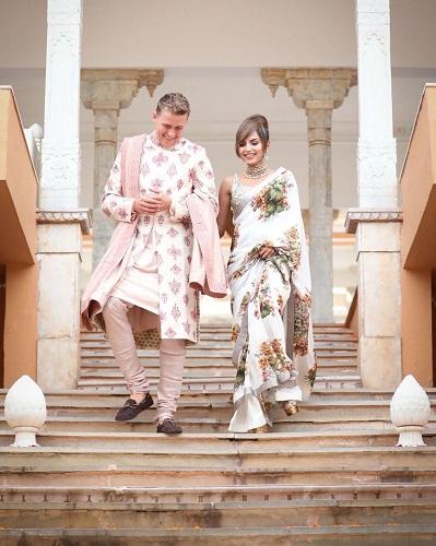 Diipa Khosla's mehndi ceremony outfit