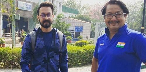 Abhishek Verma with Jaspal Rana