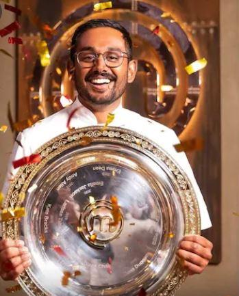 Justin Narayan as the winner of MasterChef Australia 13