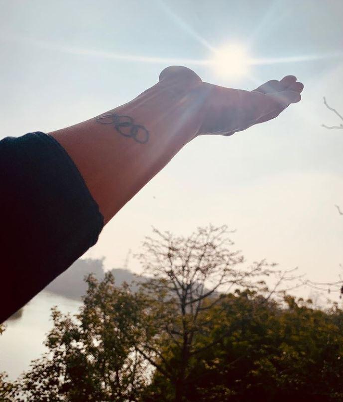 Lovlina Borgohain's tattoo